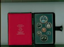 1978 CANADA Double Dollar Proof Set with SILVER DOLLAR CANADA GAMES