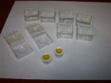 Qty. 8  Spectra Physics 12.5mm Laser Output Mirrors G3873-026