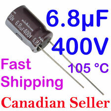 5pcs 6.8uF 400V 10x16mm 105C Nichicon CY For Power Supply TV LCD AUDIO LED VIDEO