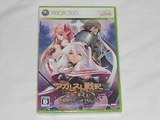 NEW Agarest Senki Zero Dawn of War XBox 360 JAPAN Game SEALED JAPANESE JP record