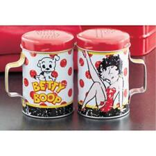Betty Boop with Pudgy Collectible Salt and Pepper Shaker Sets Nostalgic Cartoon
