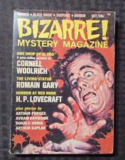 1965 BIZARRE Mystery Magazine v.1 #1 FVF Murder Black Magic Suspense Horror 142p