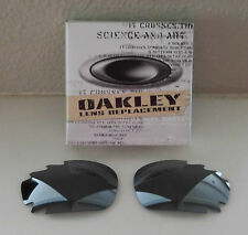 New 100% Authentic Oakley Polarized Racing Jacket  / Jawbone Grey Vented Lens