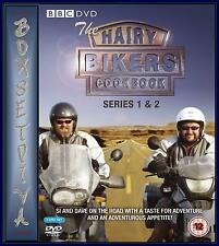 HAIRY BIKERS COOKBOOK - COMPLETE BBC SERIES 1 & 2 ***BRAND NEW DVD***