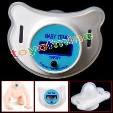 Latest Dummy Pacifier Thermometer Baby Kid Health Nipple Temperature LCD Digital