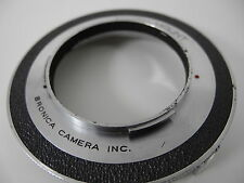 BRONICA  TO NIKON S LENS ADAPTER    USE NIKON S LENSES ON OLDER BRONICA RARE !!!