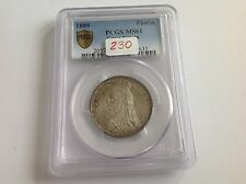 1889 Great Britain Florin PCGS MS 61