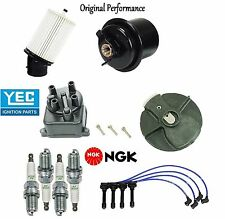 Tune Up Kit Filters Cap Rotor NGK Wires & Plugs for Acura Integra 1.8L 94-01