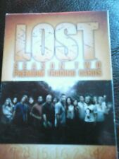 Lost season two premium trading cards