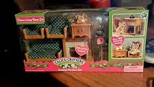 CALICO CRITTERS DELUXE LIVING ROOM SET NEW FREE SHIPPING