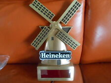 HEINEKEN BEER DIGITAL CLOCK SIGN - WIND MILL - NEW! 17 IN X 10 IN