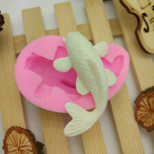 New 3D Carp Fish Shape Cake Decorating Tool Cutter Mold Mould Sugarcraft Fondant