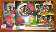 Ever After High  WAY TOO WONDERLAND PLAYSET AND RAVEN QUEEN DOLL