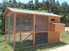 GIANT Chicken Hen Coop Poultry Cat Rabbit House CC058 upto 12 hens FREE DEL