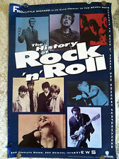 """History of Rock'N'Roll"" Music Collectable Movie Poster (Officially Licensed)"
