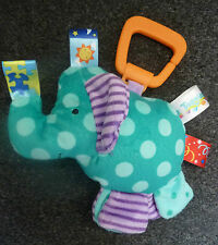 Baby Taggies Elephant Rattles Baby Plush Toy Link R