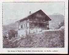 1929  --  UN CHALET A SAINT JEAN DE SIXT    K622