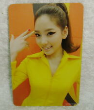 Girls' Generation Hoot Taiwan Promo Photo Card (TaeYeon Ver.) SNSD Tae Yeon