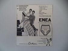 advertising Pubblicità 1960 SLIP ELASTICO ENEA