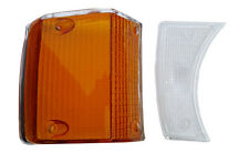VOLVO 140 TURN SIGNAL LENS kit amber and clear right front 1973,1974