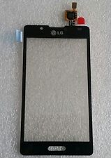 Touch Touchscreen Glas Digitizer Flex Schwarz Black für LG Optimus L7 P710 P713