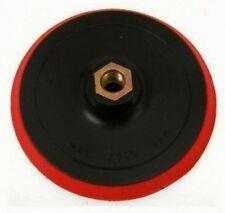 Stützteller 125 mm gummiert M14 Aufnahme Klettscheibe für Schleifscheiben + Pads