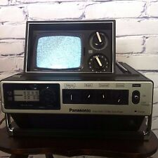 Vintage Panasonic portable TV + Radio unit - Blade Runner 1976 TR-535 C