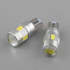 2x T10 168 194 W5W 5630 LED 6SMD HID CANBUS ERROR FREE Auto Car Side Wedge Light
