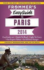 Frommer's EasyGuide to Paris 2014 (Easy Guides)-ExLibrary