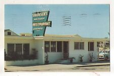 Simonsen's Seafood Restaurant FORT FT PIERCE FL Vintage Florida Postcard