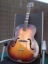 Arnold hoyer vintage Archtop golpe guitarra jazz