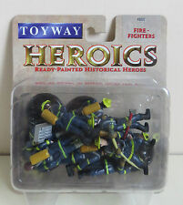 TIMPO TOYWAY HEROICS 48002 10x READY PAINTED FIRE FIGHTERS BUBBLE PACK MINT RARE