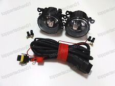 1Pair OEM Fog Lights Lamps w/Wiring for Peugeot 207 307 408 Citroen C4 C5