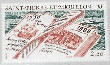 St pierre miquelon spm 1986 538 476 450 th Ann Discovery by Jacques Cartier MNH