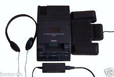 Philips lfh 720 transcripteur transcription machine à dicter mini cassette