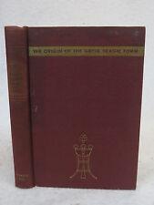 August C. Mahr  THE ORIGIN OF THE GREEK TRAGIC FORM  Prentice-Hall c. 1938