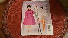 "McCall's Pattern M7301 Fashion Clothes for Barbie 11 1/2"" Doll New Uncut FF"