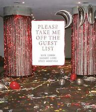 Please Take Me Off the Guest List by Nick Zinner NEW! Yeah Yeah Yeahs Karen O