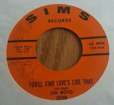 Jim Boyd ~ Let It Happen To Me / You'll Find Love's Like That ~ (VG+) Rare Teen