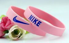 Nike Pink Elite Baller band rubber bracelet wristband BEST RATED ❤BREAST CANCER