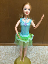 Barbie The 12 Dancing Princess Delia Summer Face Doll Ballerina Articulated Arms