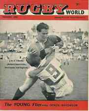RUGBY WORLD MAGAZINE THE PERFECT GIFT FOR A RUGBY FAN BORN IN FEBRUARY 1961