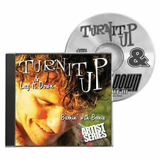 Turn It Up & Lay It Down Burnin With Bernie Rock Drum Practice Playalong CD 9