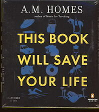 Audio book  - This Book Will Save Your Life by A  M  Homes     -    CD