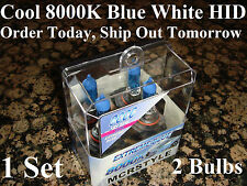 New 93-97 01-05 Toyota Corolla 8000K Blue Xenon HID 9006 bulbs