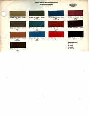 1970 PLYMOUTH BARRACUDA GTX DODGE CORONET CHRYSLER INTERIOR PAINT CHIPS DUPONT 2
