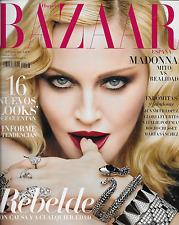 Harpers Bazaar magazine Madonna Jennifer Lopez Dior fashion Gloria Bendita