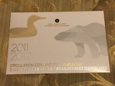 Circulation Coins and Test Tokens Set - Mintage: 25000 (2012)
