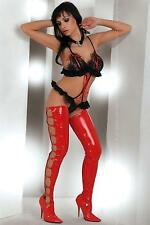 Livia Corsetti Tinashe Red & Black G String Teddy Lingerie Size L/XL