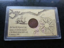Original 1808 Shipwreck Admiral Gardner Ten Cash Coin East India Co. England UK